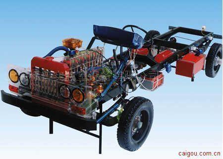 东风EQ1091、解放CA1091汽车教学模型系列