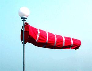 座谈金属风速风向标和风向袋有什么区分