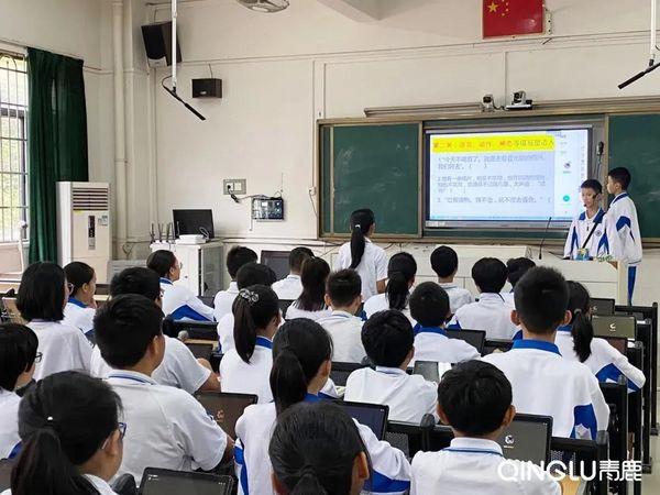 14个班500名学生!广州这所中学已实现智慧教学常态化!
