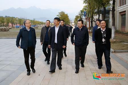 江西省教育厅副厅长裴鸿卫来九江职业技术学院调研