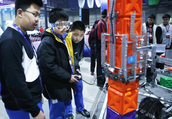 2019年北京市学生机器人智能大赛成功举办
