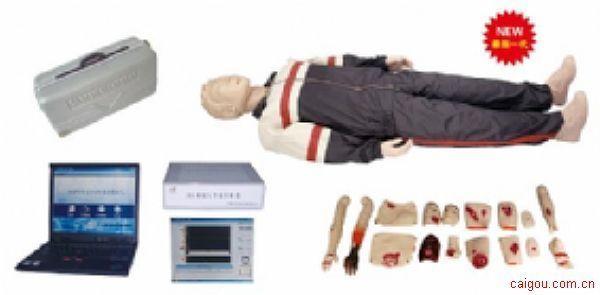 KAD/CPR980S高级心肺复苏与创伤模拟人(计算机控制、二合一功能,2011新品)
