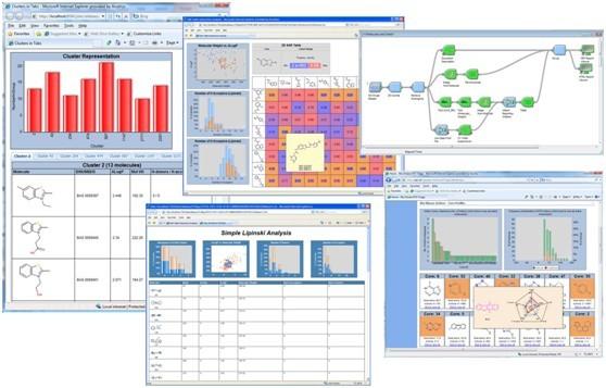 Pipeline Pilot  强大的信息整合和流程定制的科学平台