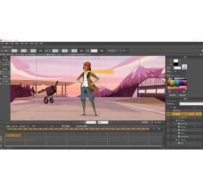 MOHO二维无纸动画软件