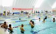 约顿气膜全天候健康体育馆助临泽县全面普及中小学游泳