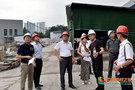 西南醫科大學領導實地檢查科技大樓基建工程項目情況