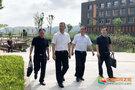 西华大学领导带队到宜宾校区检查疫情防控工作和开学迎新准备情况