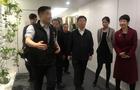 藤门国际教育西安分公司接待西安碑林区区长卢光文