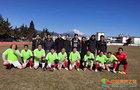 丽江师范高等专科学校教工足球队参加丽江市教体系统首届职工足球比赛