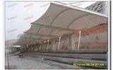 小学操场看台膜结构雨棚
