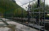 专业生产篮球场围网 足球场围网生产厂家 共进丝网