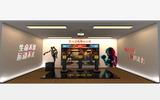 智龍體育室內模擬拳擊趣味拳擊游戲多種游戲玩法運動場館趣味設備