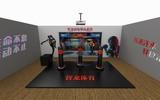智龙体育室内模拟拳击综合运动馆拳击设备潮玩馆拳击设备趣味拳击设备