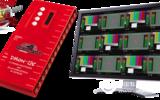 DMON-12S 12通道多畫面分割器,帶自定義布局/UMD/音頻表/格子線/Tally