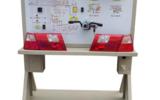 汽车灯光系统示教板