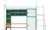宿舍家具別樣氛圍個性安徽學生公寓組合床定制為你營造