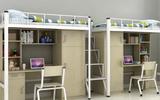 南寧學生公寓連體床伴你安然到天明 凱威特學生宿舍床廠家