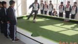 潘卡足球校園版腳踢式臺球教學設備校園足球基礎建設室內小型足球場運動器材一手廠家