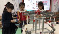 机器人走进乐山实验幼儿园 开启人工智能萌芽