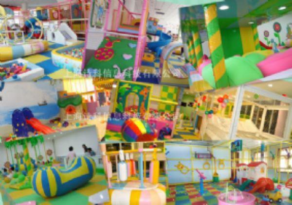 上海詩科淘氣堡游樂場兒童游樂園安裝配套