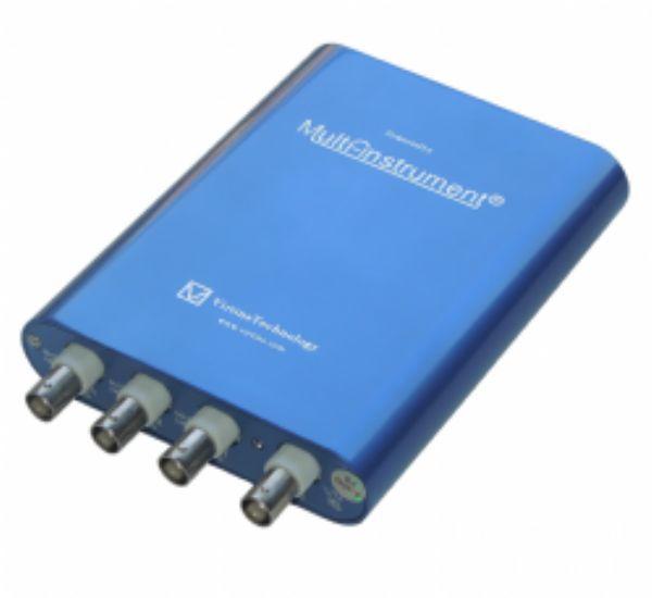 100M高精度虛擬示波器8~16位頻譜分析 信號發生器