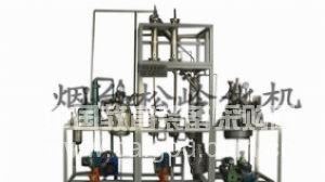 减压蒸馏装置、中试反应釜、树脂合成制备系统