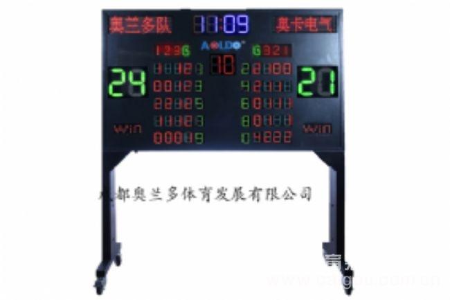移動式無線遙控門球比賽電子記分牌