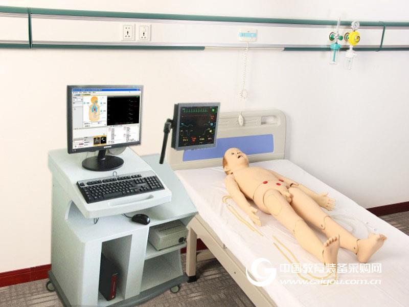综合急救护理训练模拟人 上海秉恪科教设备有限公司