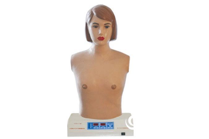 心肺觸診聽診電腦模擬器,成人心肺聽診訓練模型