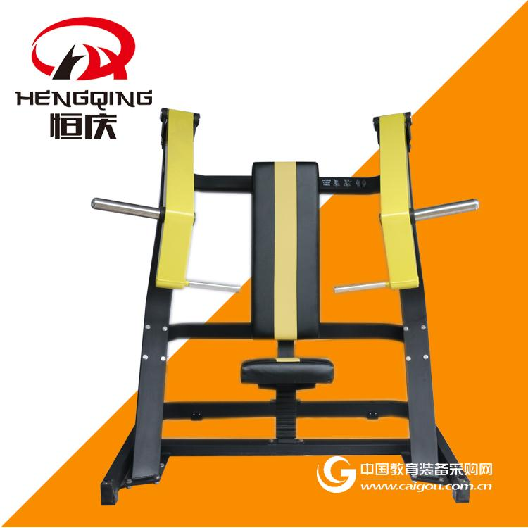 坐式上斜推胸訓練器商用健身器材