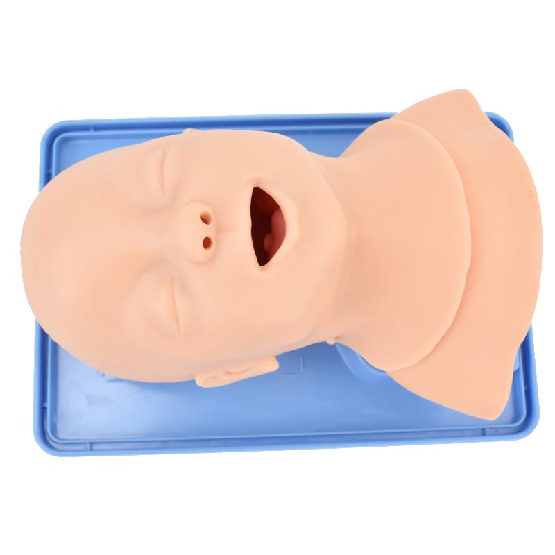 ENOVO頤諾兒童嬰兒氣管插管訓練模型 小兒急救氣管插管訓練模型護理急救教學