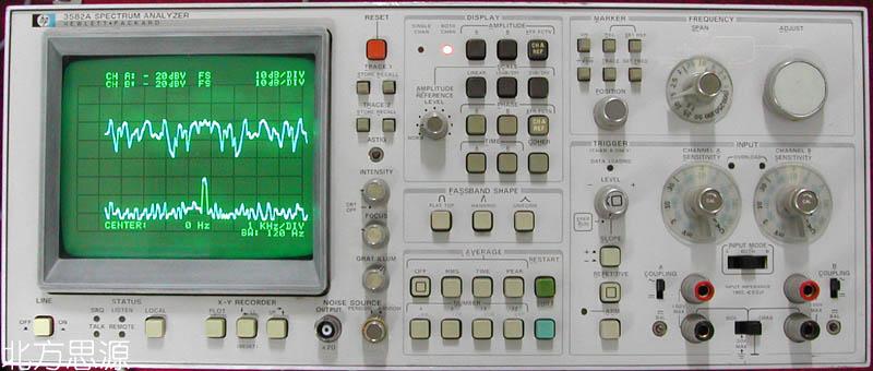 低頻頻譜分析儀 hp3582A