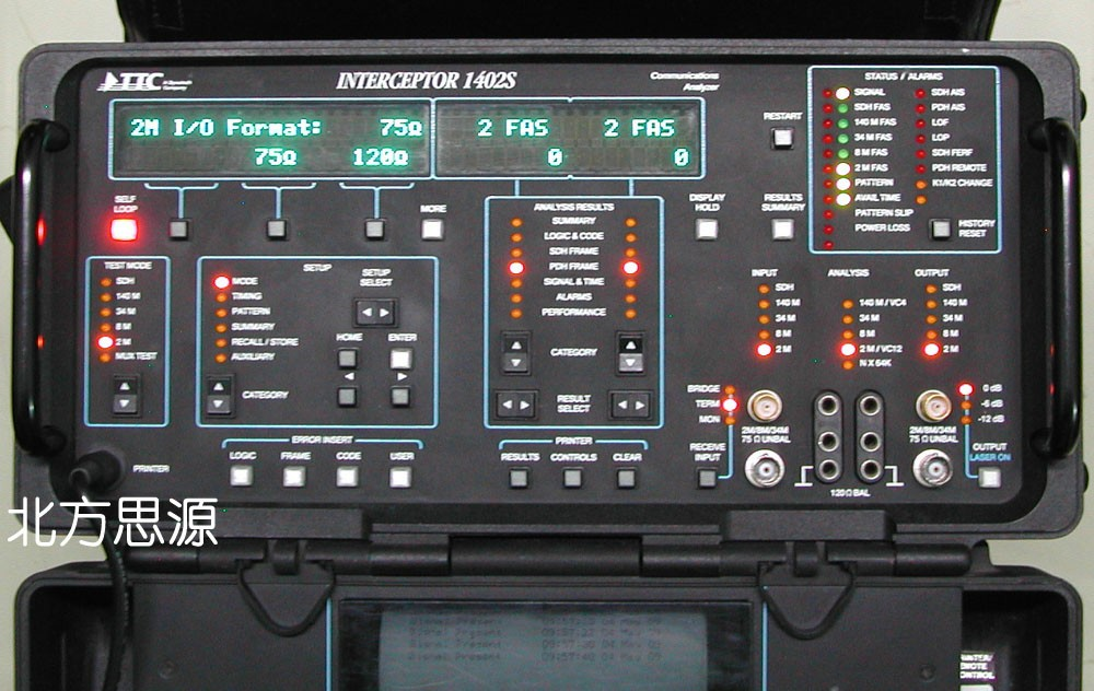 INTERCEPTOR 1402S 網絡分析儀