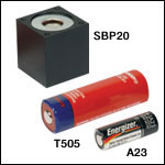 Batteries for the DET Series