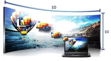 三星发布LFD新品 第二代超视界无缝液晶视频墙UD55A