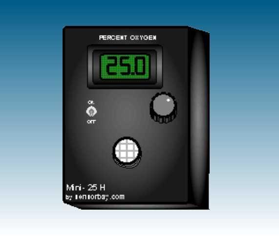 手持氧气纯度分析仪   型号;MS-Mini-25H
