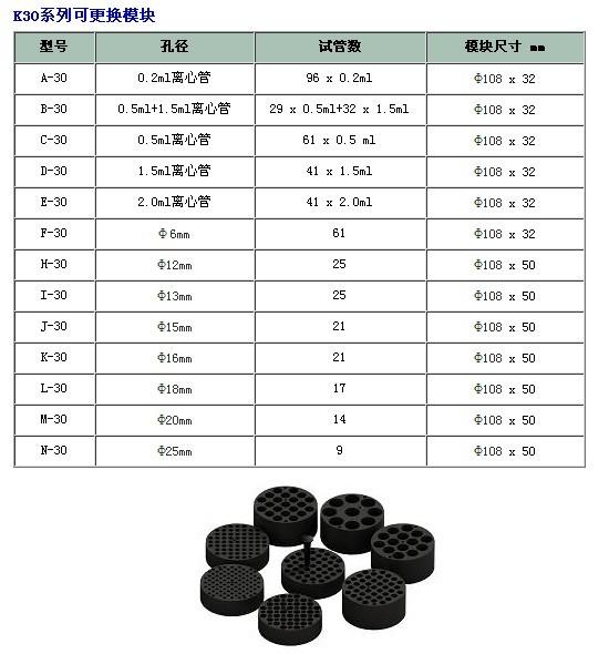 干式恒温器 K30 (加热型)