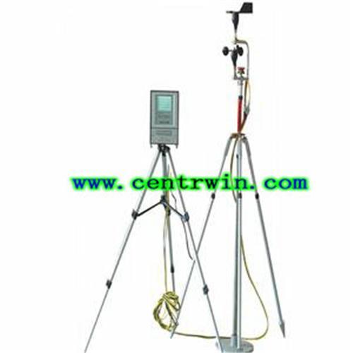 便携式气象参数监测仪/移动气象站 型号:QYJTH-2009A