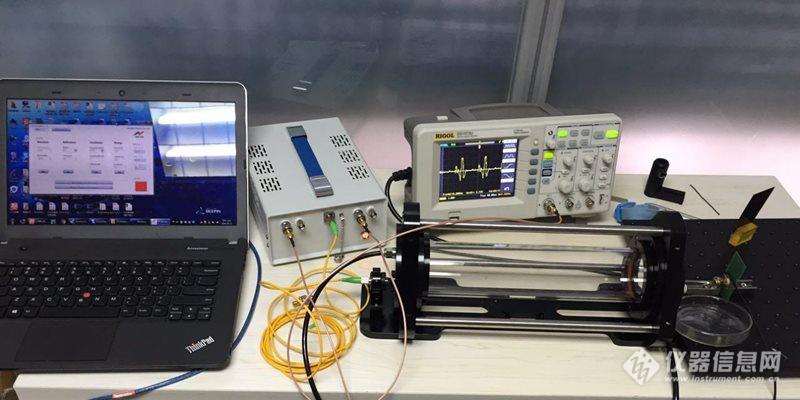 TDLAS 1512nm氨气(NH3)检测实验全套系统