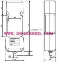经济型数显式推拉力计 型号:UJN01/HG-50