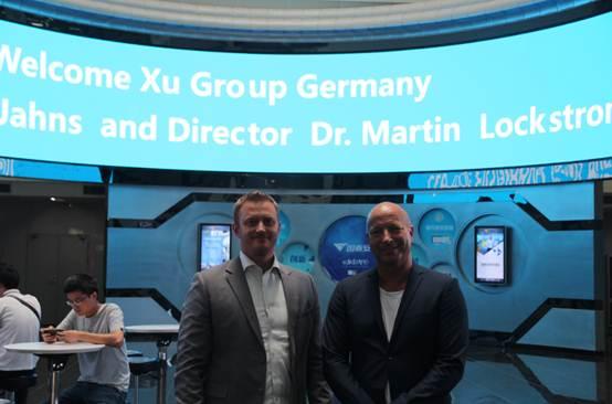 德国教育集团Be-Xu CEO莅临国泰安洽谈合作