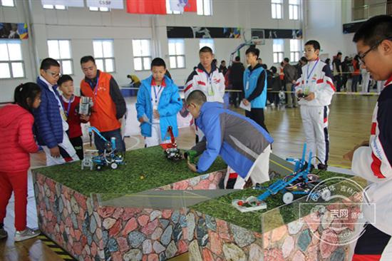 长春市首届中小学生创客大赛成功举办
