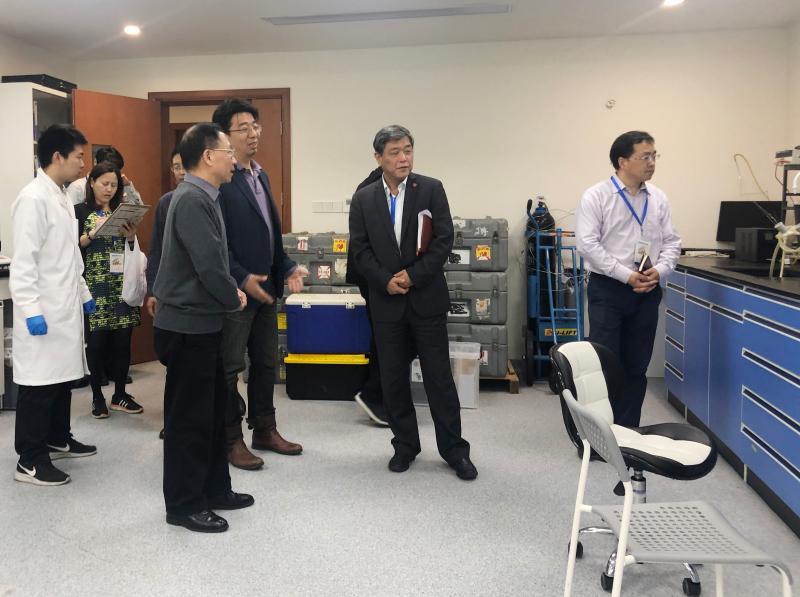 上海交通大学校领导行前往海洋学院开展实验室安全督查工作