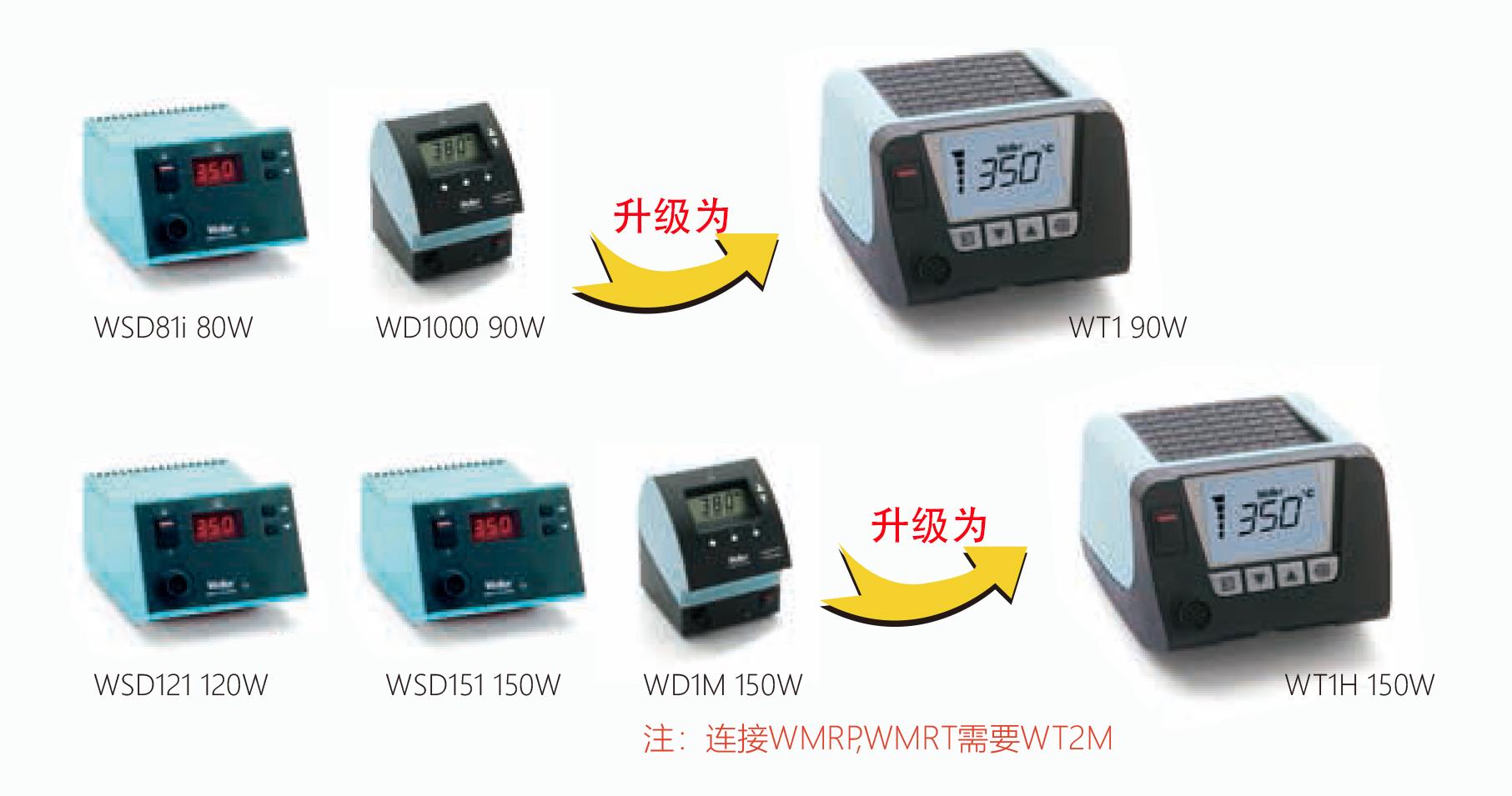 为什么选择全新WT系列电焊台?